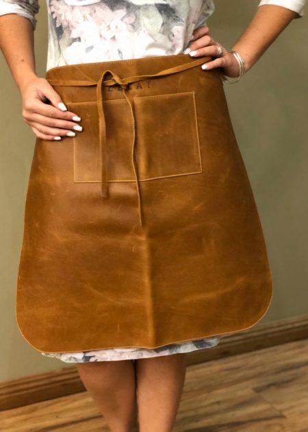 Short Leather Apron